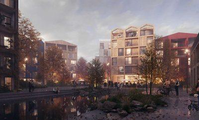 Fælledby Masterplan by Henning Larsen