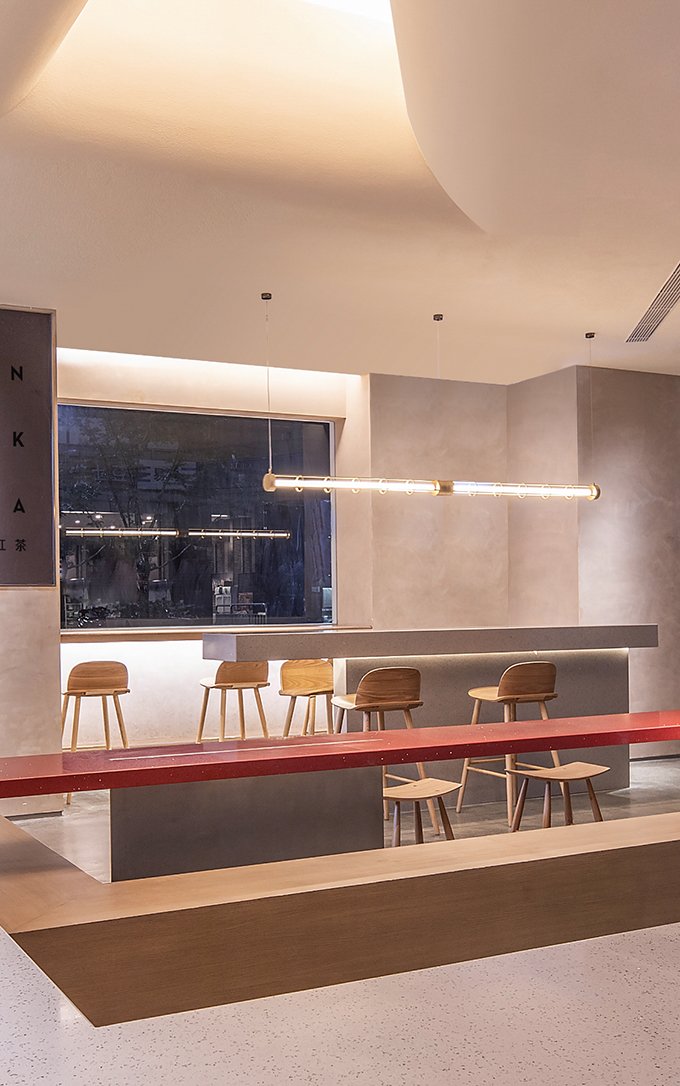 Heytea at Longfor Paradise Walk in Chongqing by Shenzhen Super Normal Design