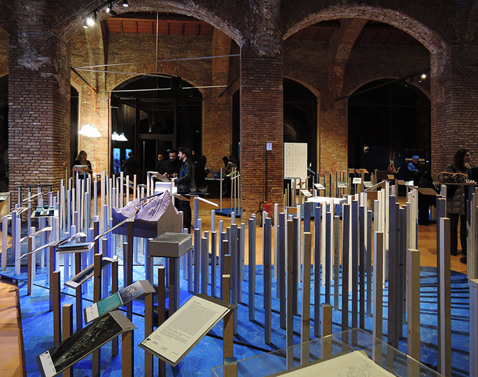 Matteo Cainer Architecture at the III Architecture Pisa Biennale