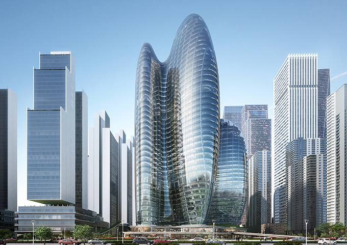 OPPO headquarters by Zaha Hadid Architects