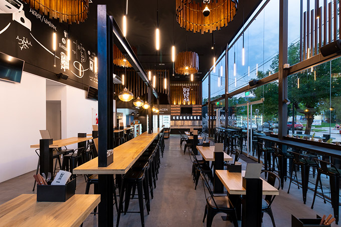 Bocatoma Taproom by VS arquitectura