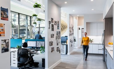 Britt Design Group's WELL Office Space by Mark Odom Studio