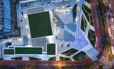 Fuzhou Vanke Golden Field of International Reception Center by WATERFROM DESIGN