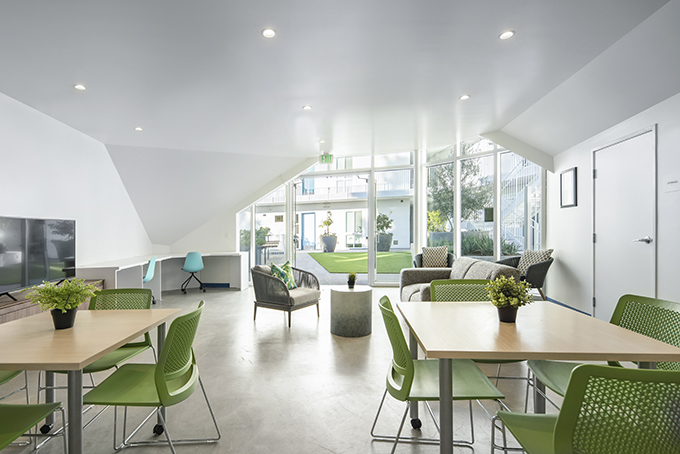 MLK1101 SUPPORTIVE HOUSING by Lorcan O'Herlihy Architects