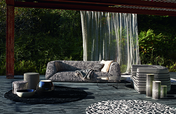 Missoni consolidates the Missoni Home collection