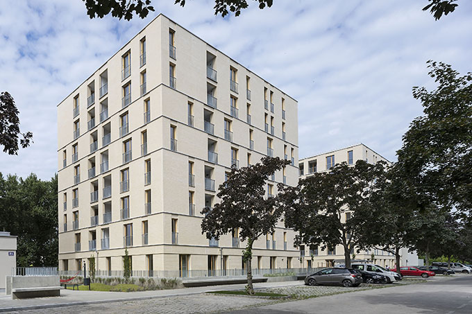 Vorgartenstrasse 98-106 by BEHF Architects