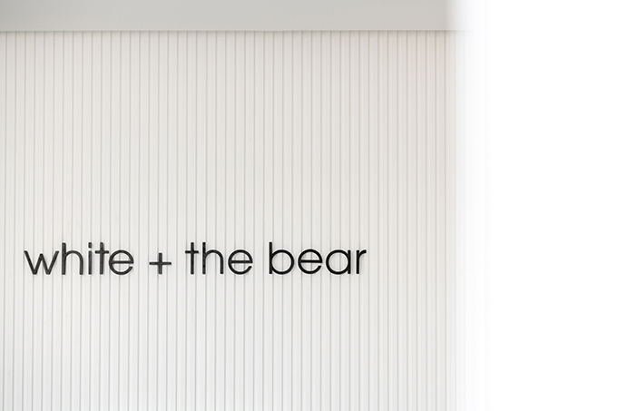 White & the Bear by Sneha Divias Atelier