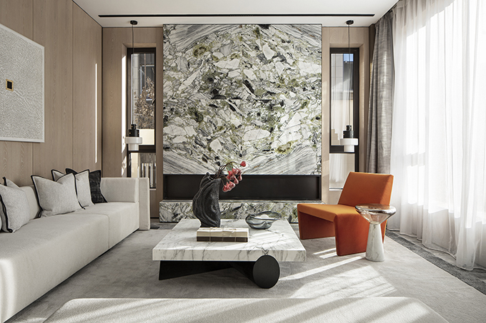 China Overseas • Glory Mansion by ONE-CU Interior Design Lab