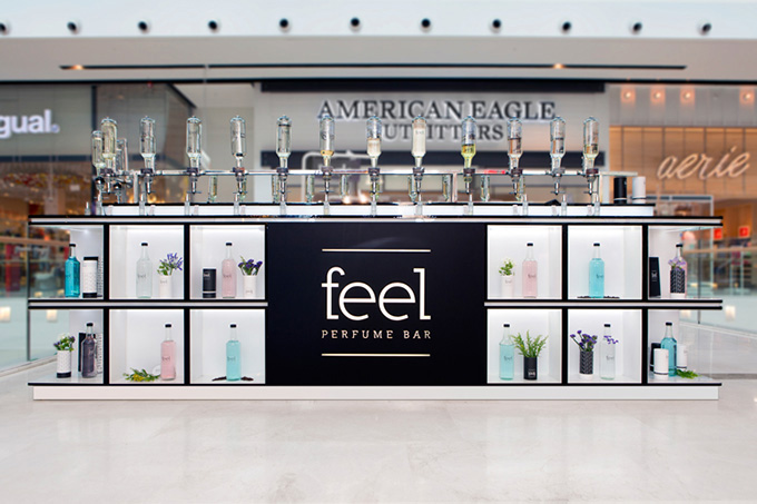 Feel - Perfume Mall Bar by Dana Shaked