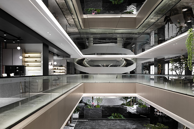 HUIYA CERAMICS Headquarters & Exhibition Hall by Foshan Topway Design