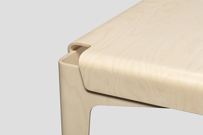 Isokon Plus reissues Shell Table and Chair by Barber & Osgerby