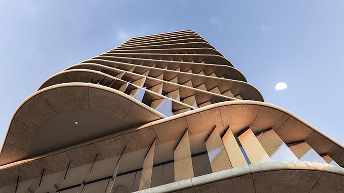 Zain tower by AQSO