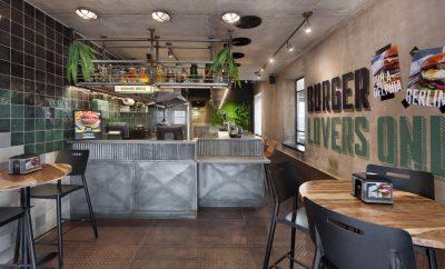 Burger Station by Dana Shaked