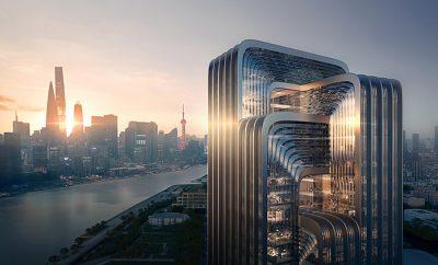 CECEP's New Shanghai Headquarters by Zaha Hadid Architects
