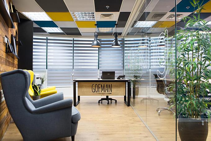 Gofman Creative Office by Dana Shaked