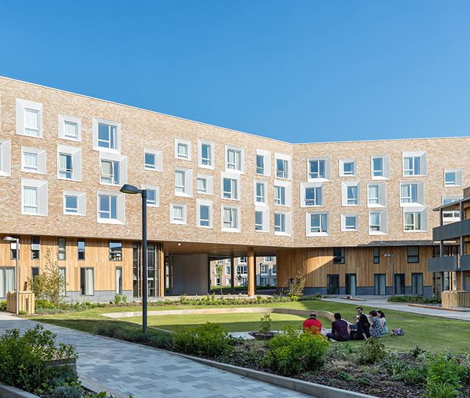 Key Worker Housing University of Cambridge by Mecanoo