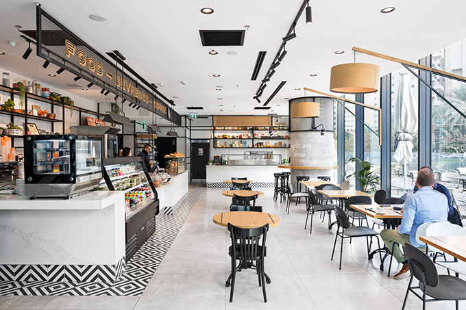 Coffee Time - Menorah House by Dana Shaked