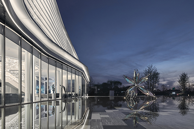 DOTHINK • AIRPORT CITY SALES CENTER by GFD