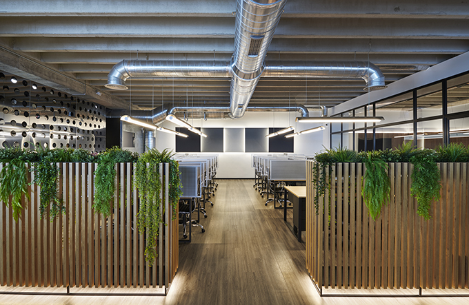 GSS Security Offices by Alex March Studio
