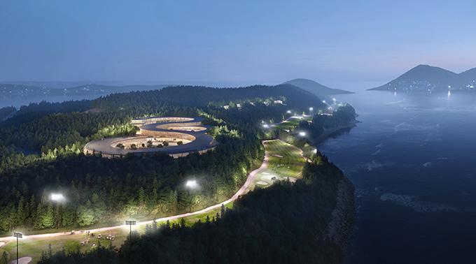 Gyeongdo Island Masterplan by UNStudio