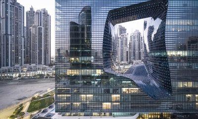 ME Dubai hotel at the Opus by Zaha Hadid Architects