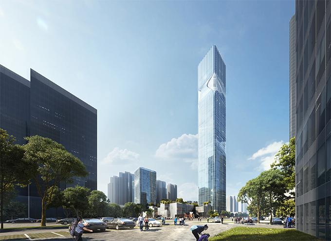 New Pingshan Eye by RMJM Shenzhen