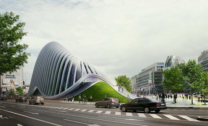 Slovak Art Center by JANREVAJ architects