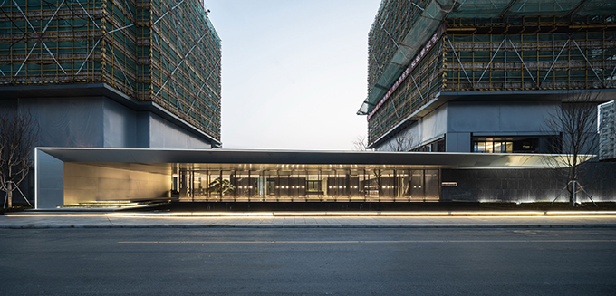 "The ""Jin "" Life Aesthetics Hall by LWM ARCHITECTS + Shanghai Yue Jie"
