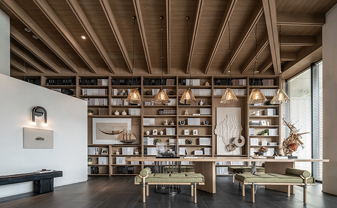 ZOINA AUSPICIOUS OMEN SALES CENTER by DAS Design