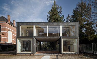 ARK - modular showroom for GAB by Ark-shelter