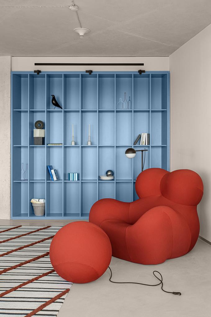 Blue Terracotta by Rina Lovko Studio