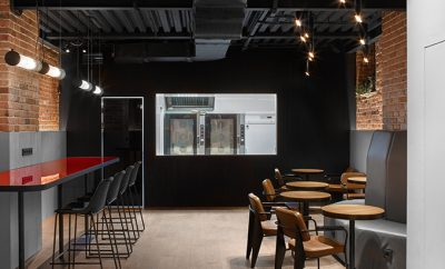 COFFEE MACHINE BAKERY by Miyao Design Studio
