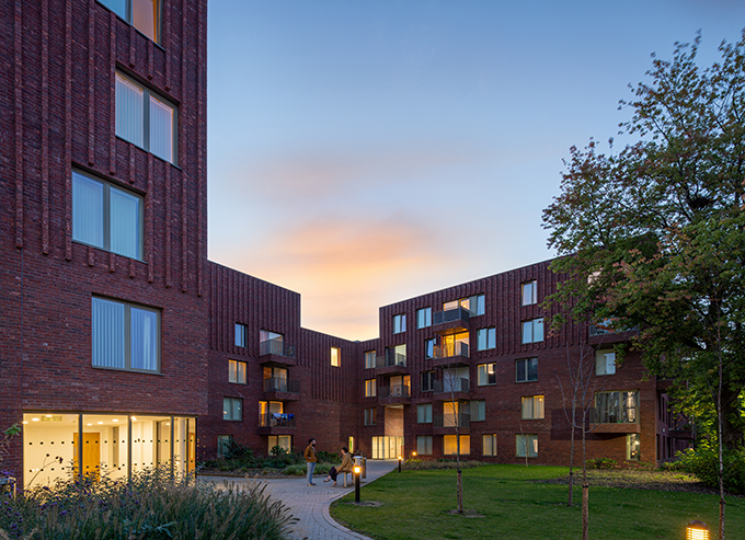 Hulme Living Leaf Street Housing in Manchester by Mecanoo
