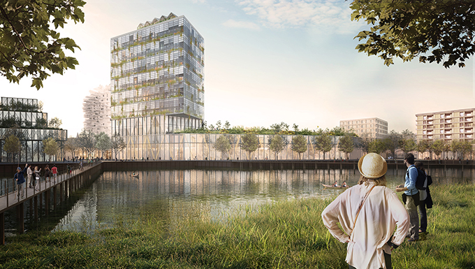 Masterplan PHVision for IBA Heidelberg by KCAP Architects & Planners