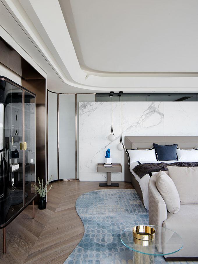 Model Duplex at Zhuhai Renheng Coastal Center by T.K. Design