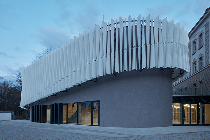 New Lecture Center VŠPJ by Qarta architektura