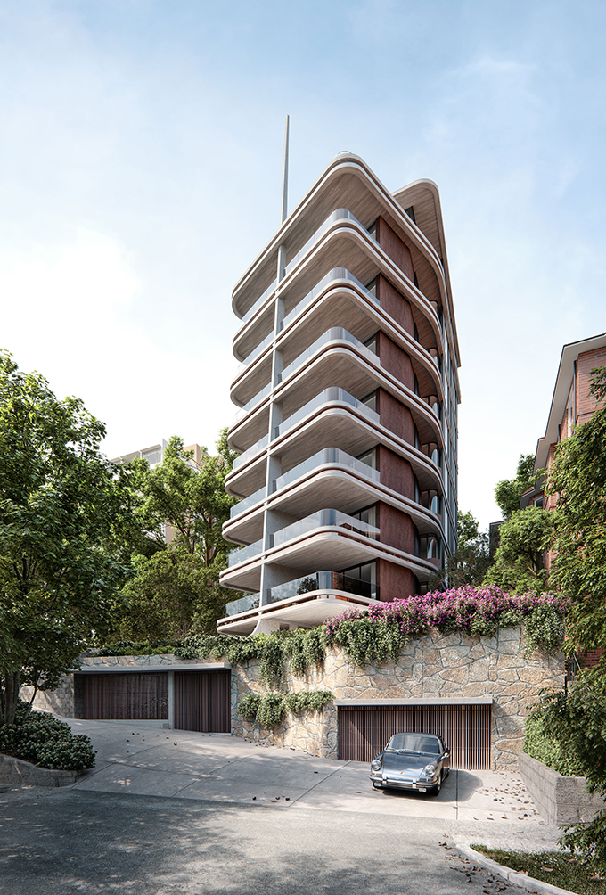 Pointe Living by Luigi Rosselli Architects