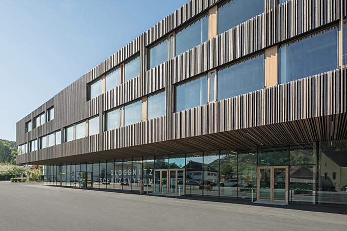 School Complex Gloggnitz by DFA Dietmar Feichtinger Architectes