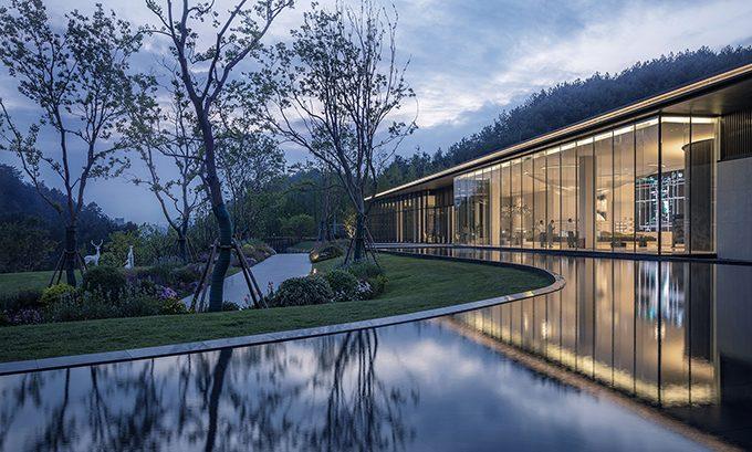 Guiyang Vanke • Guanhu Sales Center by ONE-CU Interior Design Lab