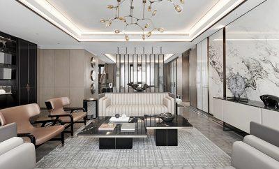 Hangzhou Boee • Hufeng Courtyard Model Villa by GFD