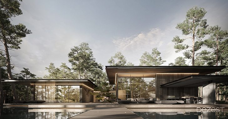 Pine Cove House by Dezest