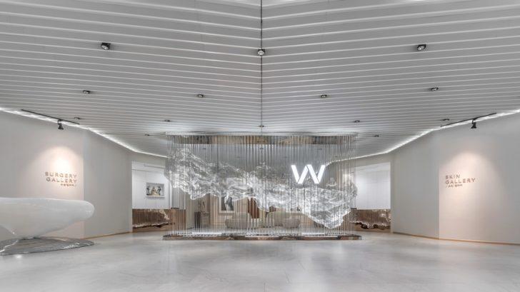 WONJIN Aesthetic Surgery Gallery Clinic by A U N Design Studio