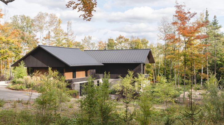 Koya House by Alain Carle Architecte