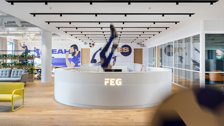 Agile and Dynamic Offices for FEG by Perspektiv