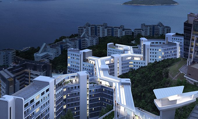 Student Residence Development at HKUST by Zaha Hadid Architects