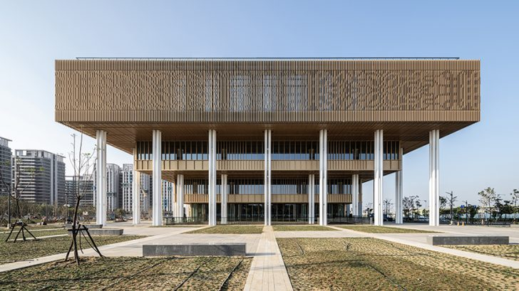 Tainan Public Library by Mecanoo and MAYU architects