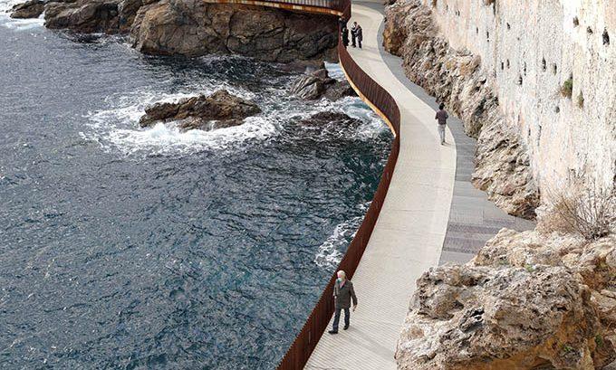 Aldilonda - Promenade sur le mer by Dietmar Feichtinger Architectes