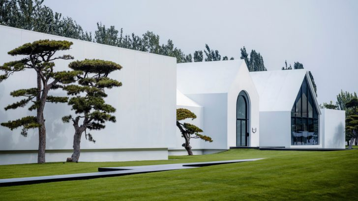 Song Art Museum by Vermilion Zhou Design Group