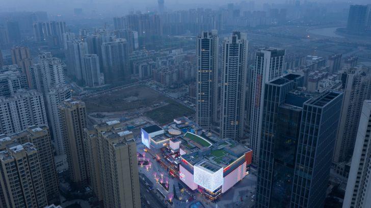 UNIFUN Tianfu Chengdu by CLOU architects