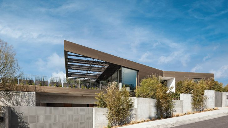 Bronze House on Nightingale by SPFarchitects